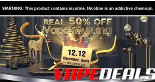 Vapesourcing 12.12 Sale (+ New Coupon Code)