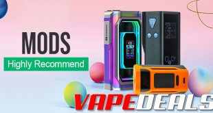 Vapesourcing Mods / Batteries Sale (Extra 10% Off)