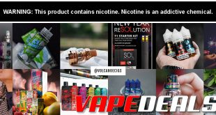 VolcanoEcigs Clearance Sale (Crazy E-liquid Deals!)