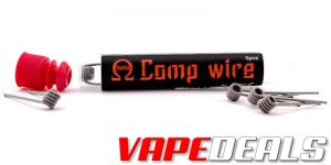 Wotofo Comp Wire Clapton Coils 5-Pack (USA) $0.60