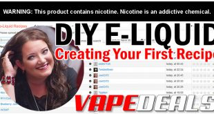 DIY E-liquid: Creating Your First Recipe
