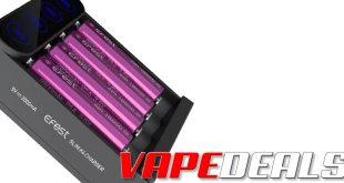 Efest Slim K4 USB-C 4-Bay Battery Charger (USA) $7.32