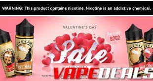 Freeman Vape Juice Valentine's Day Sale (B2G2 Free!)