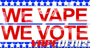 MyVPro We Vape We Vote Sitewide Sale