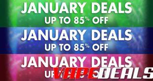 VapeDeal January E-liquid Clearance (Price Drops!)