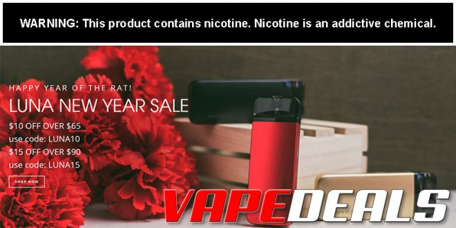 VaporDNA Chinese New Year Sale (Up to $15 Off)