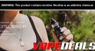 VaporDNA: Extra 40% off Clearance Section