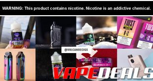 VolcanoEcigs E-liquid & Hardware Clearance Update