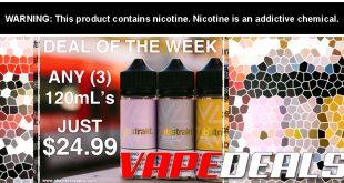 Abstrakt Vape E-liquid 360mL Bundle (3x 120mL) $24.99