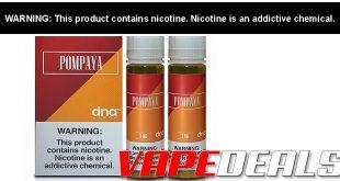 DNA Vapor E-liquid 120mL Twin Pack Clearance $4.76