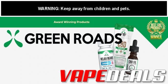 Green Roads World Sitewide CBD Sale (Extra 20% Off)