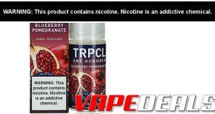 TRPCL ONE HUNDRED E-liquid 100mL $5.56
