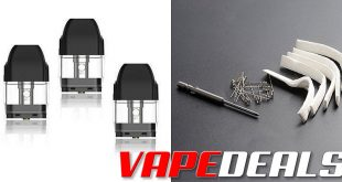 Uwell Caliburn Replacement Pods $11 | Rebuild Kit $2.59
