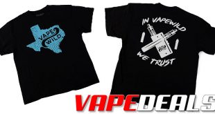 VapeWild T-Shirt Sale (4 Styles): 3 for $25.00