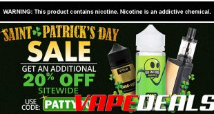 VapeDeal St. Patrick's Day Sale Extended! (20% Off!)