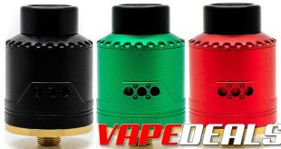 Asmodus Vice RDA (Designed by VapePorn) $9.95