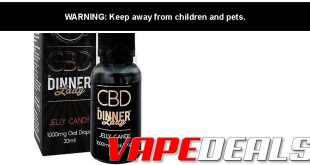Dinner Lady CBD Tinctures & Vape Juice $29.99+