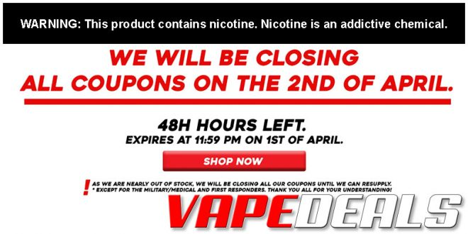 Freeman Vape Juice Coupon Codes Disabled Tonight!