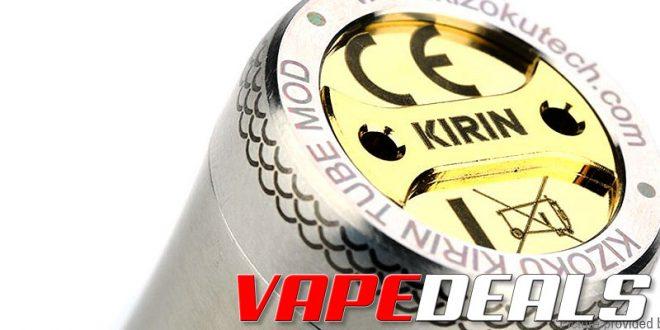 Kizoku Kirin 18350/18650 Mosfet Tube Mod $18.10