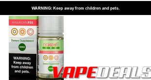 Naked 100 CBD E-liquid (Hawaiian Pog - 600mg) $13.50