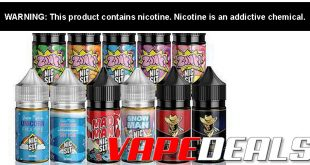 Juice Man E-liquid and Nic Salt Bundles $24.00+