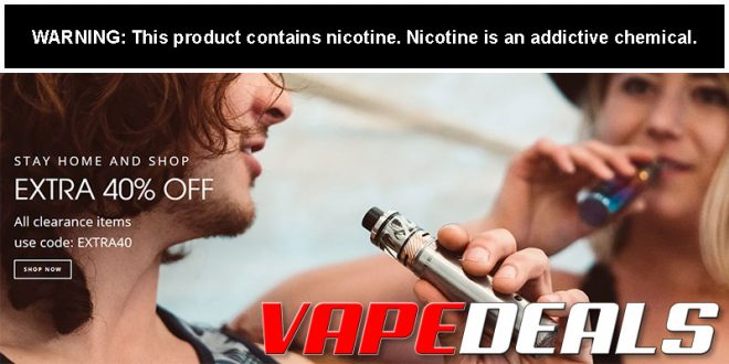 VaporDNA Clearance Sale is Back! (Extra 40% Off)
