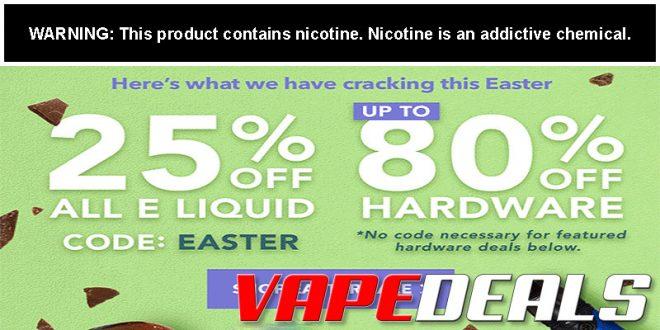 Breazy Easter 2020 Sale (25% Off All E-liquids)