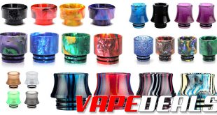 Drip Tip Deals: 4x Resin Drip Tips for $2.63 (Shipped!)