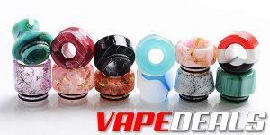 Drip Tip Deals @3fvape: 3x 810 Drip Tips for $0.49!