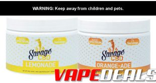 Savage CBD Drink Powder BOGO Sale – 2 for $34.99