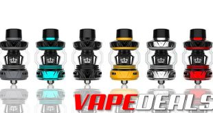 Uwell Crown 5 (V) Sub-ohm Tank (USA / In Stock) $18.60