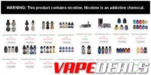 3avape Classic Atomizer Deals (15 Options) $2.33+