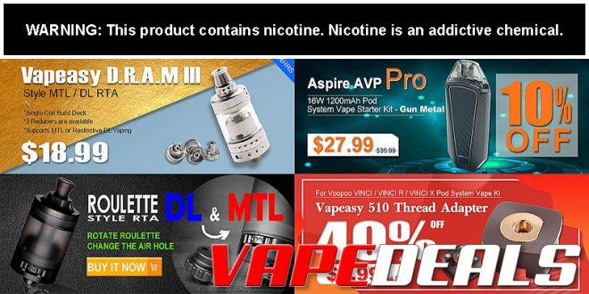 3fvape Weekly Flash Sale & Clearance Update