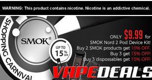 Smok Nord 2 Pod System Kit BLOWOUT (USA) $9.99