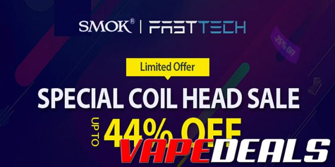 Smok Replacement Coils Sale (Free Shipping) $0.46+