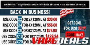 Freeman Vape Juice New Site & New Coupon Codes!