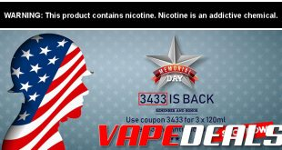 Freeman Vape Juice Memorial Day 2020 Sale