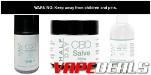 Half Day CBD Topicals Sale (Up to 50% Off)