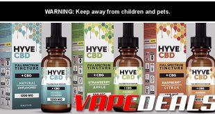 HYVE CBD Tinctures (Full Spectrum) Sale $11.05+