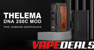 Lost Vape Thelema DNA250C Mod $103.69
