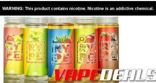 RYPE E-liquid 240mL BOGO Deal (USA) $14.40