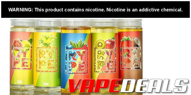 RYPE E-liquid 240mL BOGO Deal (USA) $14.40