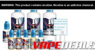 Central Vapors Large Pro Size DIY E-liquid Kit $33.78