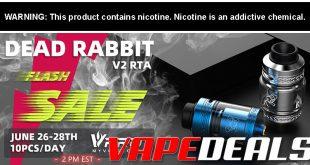 Dead Rabbit V2 RTA by Hellvape (USA Flash Sale!)