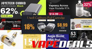 3fvape Weekly Flash Sale & Clearance Update
