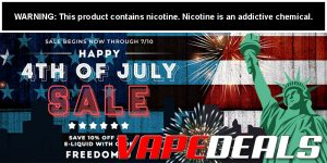 Ecig-City 4th of July 2020 Sale + Coupon Code