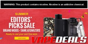 Fasttech Summer Editors' Picks Mod & Atty Sale