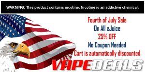 FlawlessVapeShop 4th of July 2020 E-liquid Sale