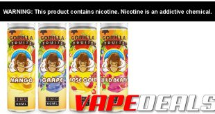 Gorilla Fruits eJuice by E&B Review!