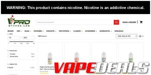 MyVPro Weekend E-liquid Flash Sale